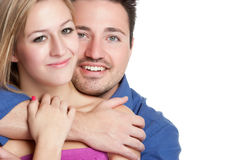 Coppie felici immagine stock libera da diritti