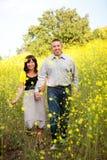 Coppie felici Fotografia Stock