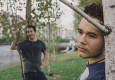 Coppie gaie Fotografia Stock Libera da Diritti