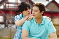 Coppie gay fotografia stock libera da diritti