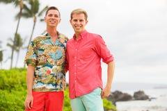 Coppie gay felici fotografia stock