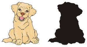 Coppie i cani Immagini Stock Libere da Diritti
