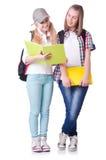 Coppie i giovani studenti Immagine Stock Libera da Diritti