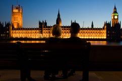 Coppie inglesi fotografia stock libera da diritti