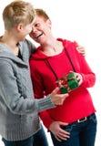 Coppie lesbiche Fotografia Stock Libera da Diritti