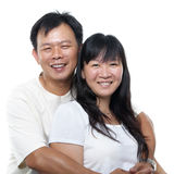 Coppie mature asiatiche fotografia stock libera da diritti