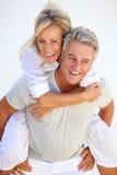 Coppie mature felici fotografia stock