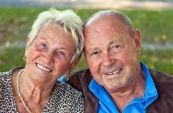 Coppie mature nell'amore Fotografie Stock Libere da Diritti