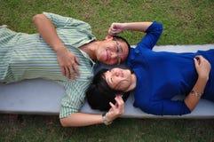 Coppie nell'amore Fotografia Stock