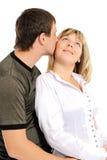 Coppie nell'amore-- Fotografia Stock Libera da Diritti