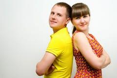 Coppie nell'amore Fotografie Stock