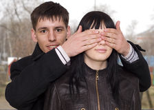 Coppie nell'amore Fotografia Stock Libera da Diritti