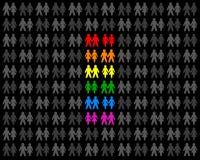 Coppie omosessuali Fotografie Stock