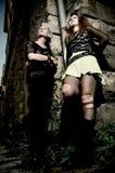 Coppie punk Fotografie Stock
