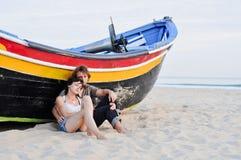 Coppie romantiche Fotografia Stock