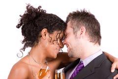 Coppie romantiche Fotografie Stock Libere da Diritti