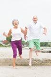 Coppie senior attive Immagini Stock Libere da Diritti
