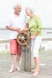 Coppie senior attive Fotografia Stock