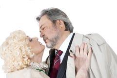 Coppie senior felici nell'amore Fotografia Stock Libera da Diritti