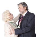 Coppie senior felici nell'amore Fotografia Stock