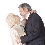 Coppie senior felici nell'amore Immagine Stock Libera da Diritti