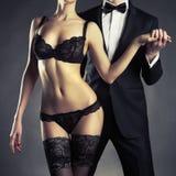 Coppie sensuali Fotografie Stock Libere da Diritti