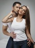 Coppie sensuali Fotografia Stock