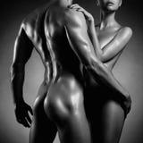 Coppie sensuali nude Immagine Stock Libera da Diritti