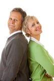 Coppie: Uomo e donna che stanno insieme Immagini Stock Libere da Diritti