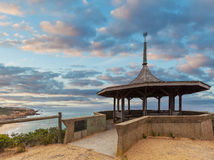 The Coppins Lookout gazebo at dusk. Sorrento back beach, Morning. Ton Peninsula, Melbourne, Australia Stock Photos