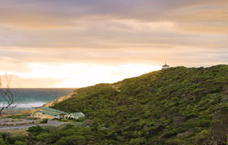 Coppins Lookout Sorrento, Australia. Coppins Lookout Sorrento at the sunset, Australia Stock Image