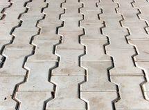 Copra di tegoli il calcestruzzo del rivestimento Fotografie Stock Libere da Diritti