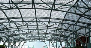 Copra l'architetto fatto con la copertura del tetto del progettista e del ferro Fotografia Stock Libera da Diritti