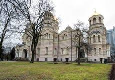 Copre con una cupola la natività della cattedrale di Cristo Fotografia Stock Libera da Diritti