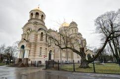 Copre con una cupola la natività della cattedrale di Cristo Immagini Stock