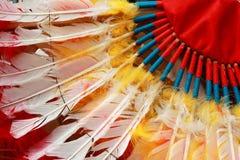 Copricapo del capo indiano del nativo americano Immagine Stock