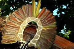 Copricapo indigeno immagini stock