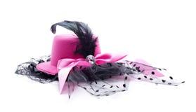 Copricapo rosa Immagini Stock