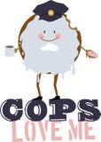 Cops Love Me Stock Image