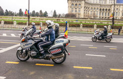 Cops on motorcycles Royalty Free Stock Image