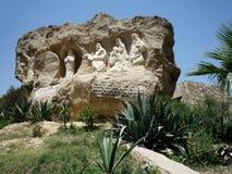 Copt kristendomen i Egypten royaltyfri bild