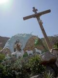 Copt kristendomen i Egypten fotografering för bildbyråer
