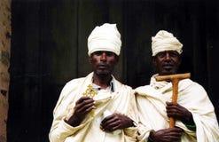 Copt portret stock foto's