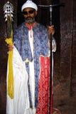 Copt priest portrait Royalty Free Stock Image