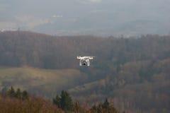 Copter στον αέρα στοκ φωτογραφία