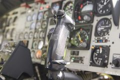 Copter comands or controls Stock Photo