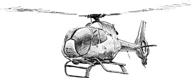 Copter Royalty Free Stock Image