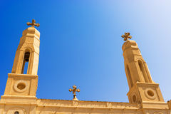 Coptic Cathedral in Khartoum. Stock Image