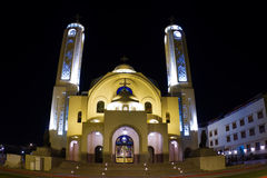 Coptic church Royalty Free Stock Images