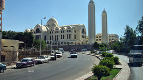 The Coptic church. In Aswan Royalty Free Stock Photo